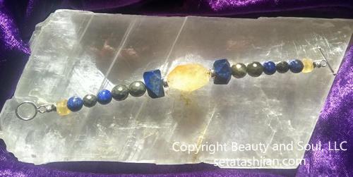Archangel Uriel bracelet by Seta T