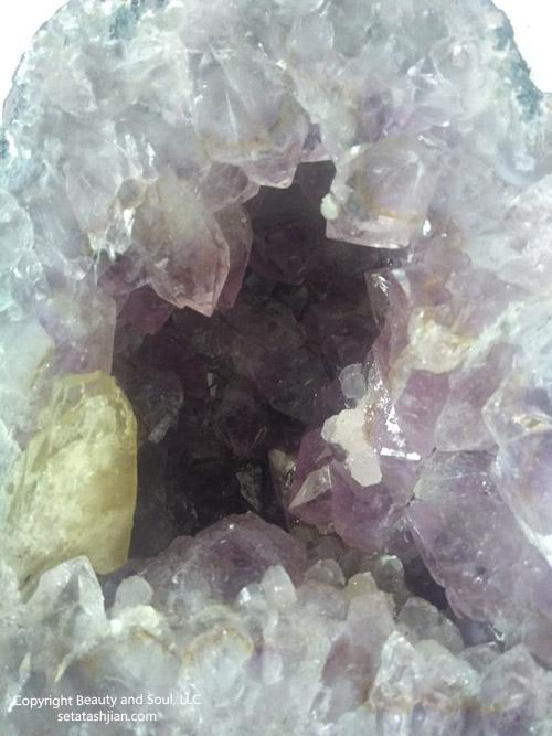 Amethyst Cathedral - Medium crystal