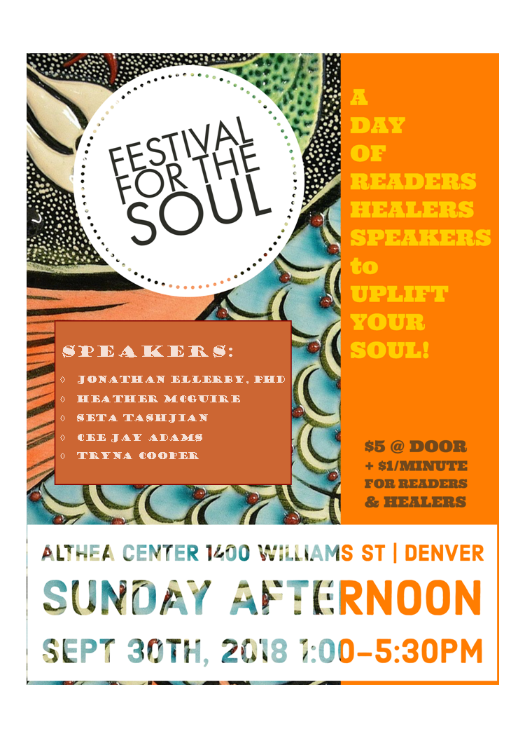 Festival for the Soul 2018 flyer