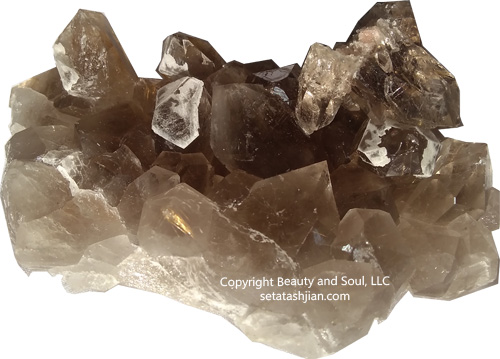 Seta Tashjian - Rutilated Quartz Cluster