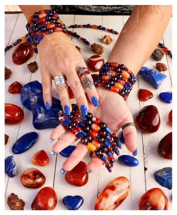 Goddess Anahit bracelet and charm by Seta Tashjian
