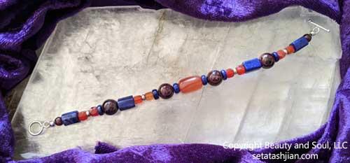 Goddess Anahit bracelet unclasped by Seta Tashjian