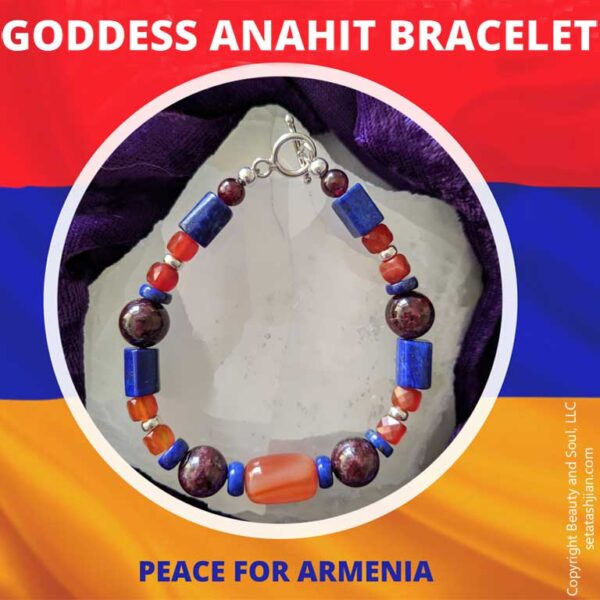 Goddess Anahit bracelet by Seta Tashjian